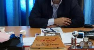 المدير الجديد لمستشفى شهداء الأقصى د. كمال خطاب يلتقي بعدة وفود من مؤسسات المجتمع المدني