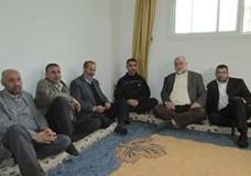 إدارة التمريض والعلاقات العامة في زيارة للحكيم محمد الجمل