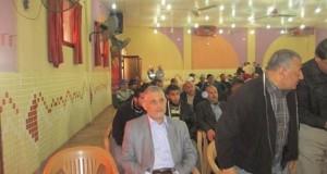 إدارة مستشفى النجار تشارك إدارة بلدية رفح الكرام في حفل تكريم الموظفين المتقاعدين خلال عام 2014