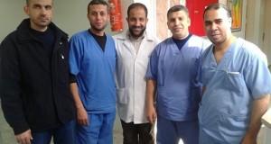 مدير التمريض بمستشفى النجار يجتمع مع حكماء التمريض لقسم الكلى الجديد