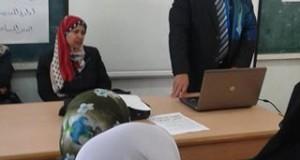 مستشفى النجار تشارك في حملات التثقيف الصحي بالمدارس برفح
